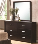 Andreas Dresser in Cappuccino Finish by Coaster - 202473