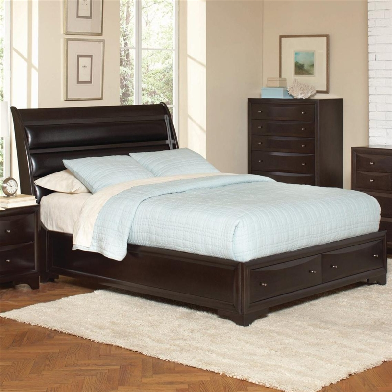 Webster 48 Piece Storage Bed Bedroom Set In Brown Maple Finish By Best Storage In Bedrooms Set