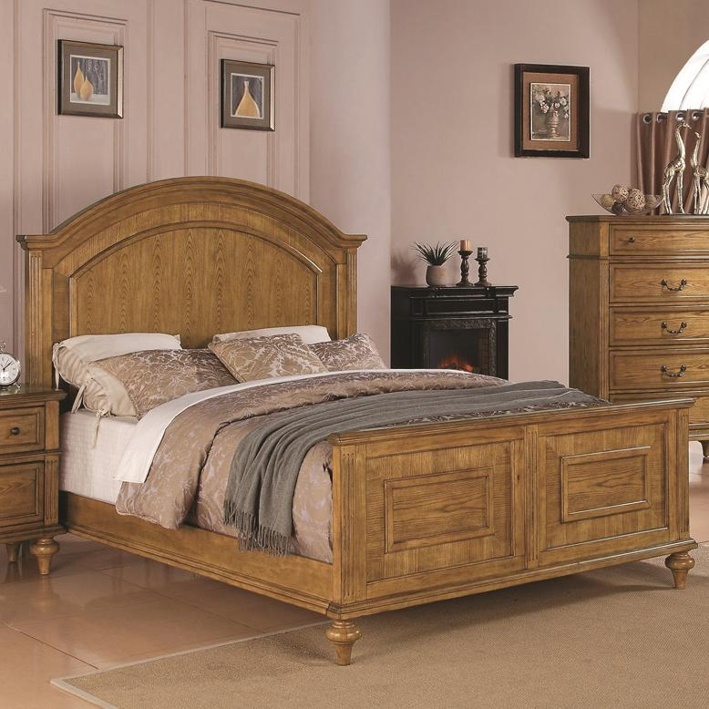 Emily 6 Piece Bedroom Set in Light Oak Finish by Coaster 202571
