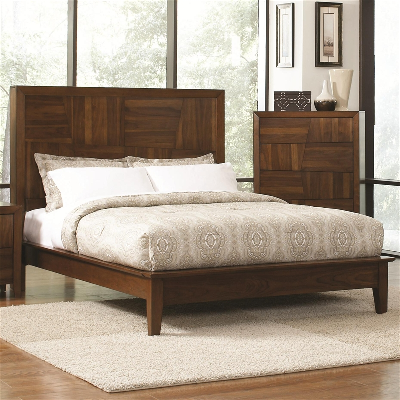 Joyce 6 Piece Bedroom Set in Walnut Finish by Coaster   202841 . Coaster Bedroom Furniture. Home Design Ideas