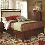 Ortiz Storage Bed in Rich Cherry Finish by Coaster - 203031Q