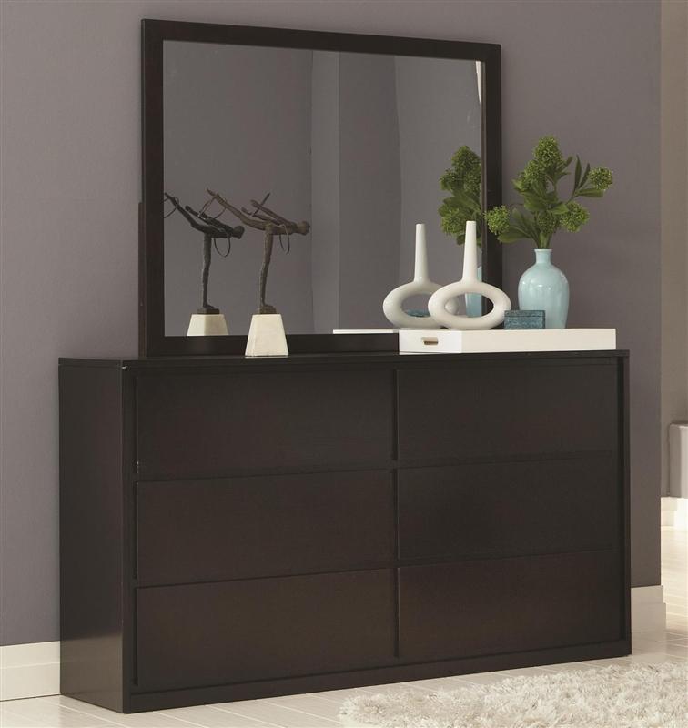 Hudson 6 Piece Bedroom Set in Espresso Finish by Coaster   203251. Espresso Bedroom Set. Home Design Ideas