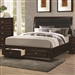 Jaxson Storage Bed in Cappuccino Finish by Coaster - 203481Q