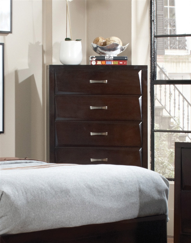 Palmetto 6 Piece Bedroom Set in Cappuccino Finish by Coaster - 203551