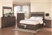 Grayson Storage Bed 6 Piece Bedroom Set in Wire Brushed Dark Black Finish by Coaster - 203681