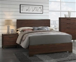 Edmonton Bed in Rustic Tobacco Finish by Coaster - 204351Q