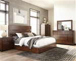 Artesia Storage Bed 6 Piece Bedroom Set in Dark Cocoa Finish by Scott Living - 204470-G