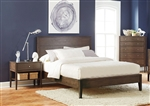 Lompoc Bed in Ash Brown Finish by Coaster - 204561Q