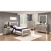 Leighton Youth Bedroom Set in Mercury Metallic Finish by Coaster - 204921T