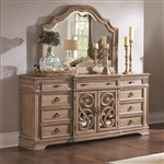 Ilana Buffet in Antique Linen Finish by Coaster - 205073