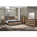 Sembene 6 Piece Bedroom Set in Antique Multicolor Finish by Coaster - 205091