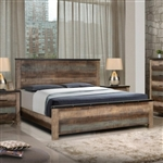 Sembene Bed in Antique Multicolor Finish by Coaster - 205091Q