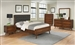 Robyn 6 Piece Bedroom Set in Dark Walnut Finish by Coaster - 205131