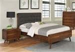 Robyn Bed in Dark Walnut Finish by Coaster - 205131Q