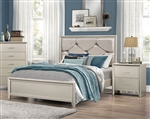 Lana Bed in Silver Finish by Coaster - 205181Q