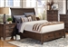 Ives Storage Bed in Antique Mink Finish by Coaster - 205250Q
