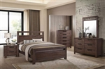 Caila 6 Piece Bedroom Set in Rustic Ale Finish by Coaster - 206291