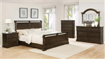 Chandler 6 Piece Bedroom Set in Heirloom Brown Finish by Coaster - 206391