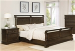 Chandler Bed in Heirloom Brown Finish by Coaster - 206391Q