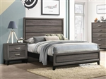 Watson Bed in Grey Oak Finish by Coaster - 212421Q