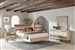 Marlow 6 Piece Bedroom Set in Rough Sawn Multi Finish by Coaster - 215761