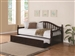 Dan Ryan Traditional Daybed with Trundle in Cappuccino Finish by Coaster - 300090