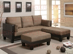 Ellesmere Sofa Bed in Two Tone Upholstery by Coaster - 300160