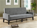 Blue/Gray Microfiber Sofa Bed by Coaster - 300229