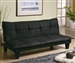 Dark Gray Microfiber Sofa Bed by Coaster - 300238