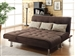 Ellwood Sofa Bed in Brown Microfiber Upholstery by Coaster - 300276