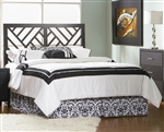 Grove Queen/Full Headboard in Black Finish by Coaster - 300370QF