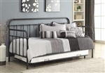 Manor Trundle Daybed in Dark Bronze Metal Finish by Coaster - 300398