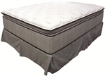 King Koil Spine Support Delaney Queen Jumbo Pillow Top Mattress by Coaster - 350004Q