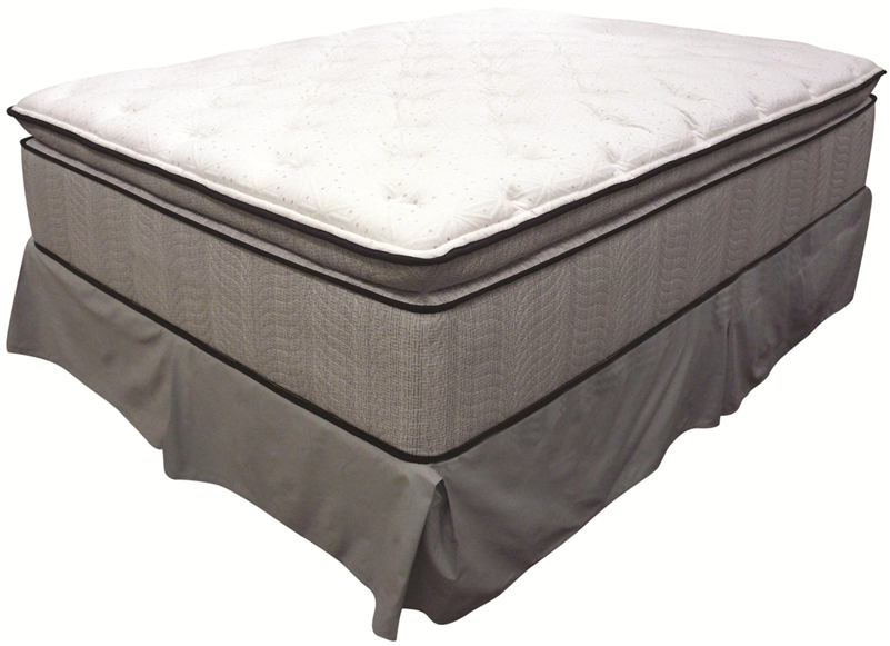 king koil spine support esteem queen super pillow top mattress by coaster 350005q