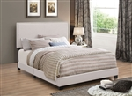 Boyd Ivory Fabric Bed by Coaster - 350051-K