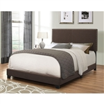 Boyd Brown Fabric Bed by Coaster - 350081-K
