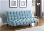 Cullen Sofa Bed in Teal Velvet Upholstery by Coaster - 360235
