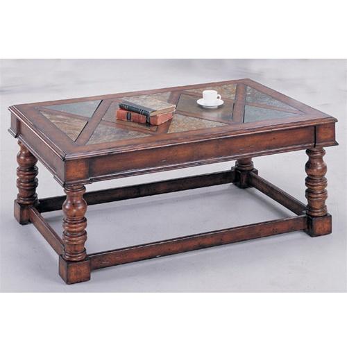 Slate Coffee Table By Coaster 3863