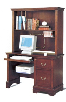 Incroyable Louis Philippe Youth Bedroom Furniture Desk With Hutch In Rich Cherry  Finish By Coaster   3882