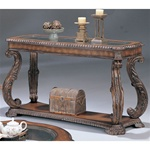 Antique Finish Sofa Table by Coaster - 3893