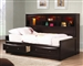 Phoenix Storage Daybed in Rich Deep Cappuccino Finish by Coaster - 400410T
