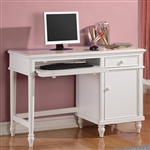 Daisy Desk in White Finish by Coaster - 400488