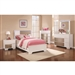 Havering Youth Bedroom Set in Blanco and Sterling Finish by Coaster - 400861