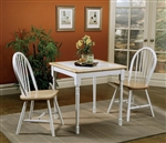 3 Piece Set in Two Tone Finish by Coaster - 4191