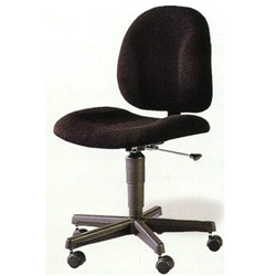 newest 7fd13 3c107 Black Compact Office Chair by Coaster - 4293