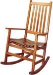 Traditional Wood Rocker by Coaster - 4511