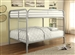 Morgan Full Full Bunk Bed in Silver Finish by Coaster - 460056V
