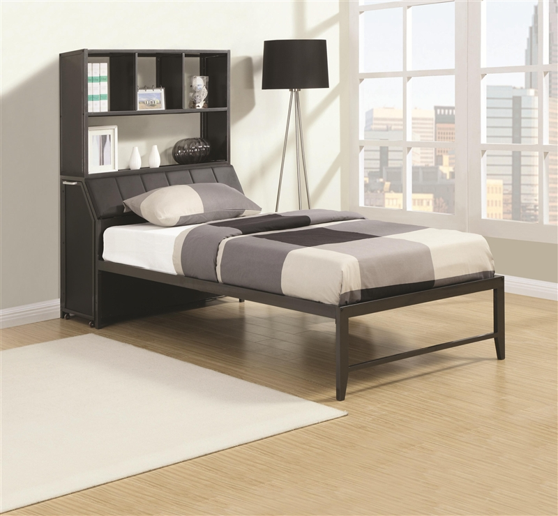 Multifunctional Bed In Gunmetal Finish By Coaster 460100