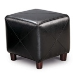 Accent Cube Foot Stool by Coaster - 500134