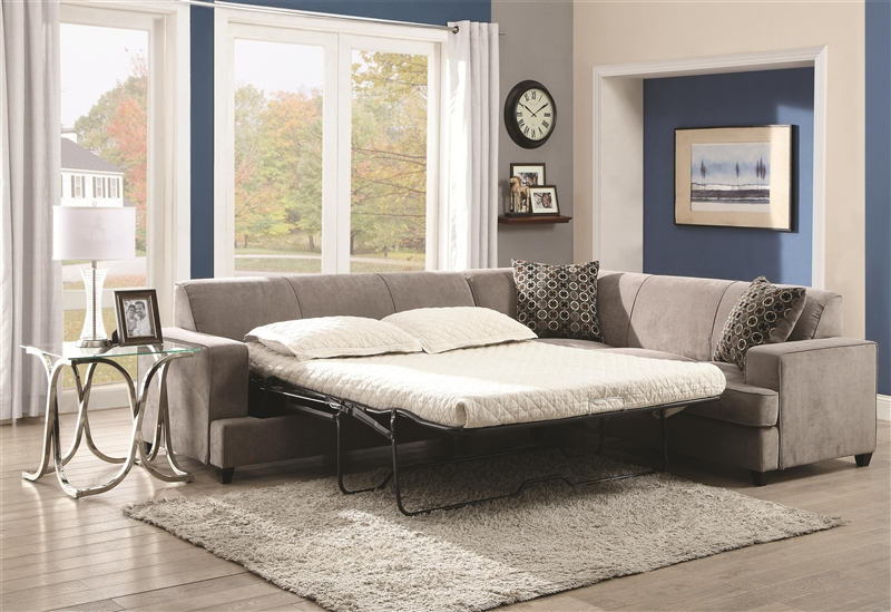 customize interiors personalize fabric with and chaise sleeper decordiva endearing sienna sectional sofa
